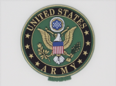 UNITED STATES ARMY 3D EFFECT FRIDGE MAGNET